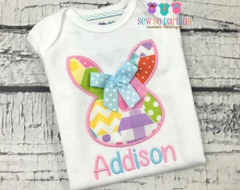 Baby Girl Easter Shirt - Easter Outfit - Girl Easter Shirt - Easter Egg Shirt - Easter Bunny Outfit