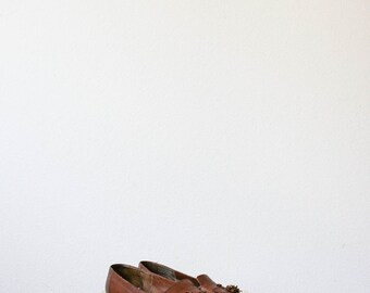 sz 8 1/2 womens | vintage 80s nine west tassle loafers