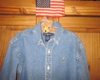 Ralph Lauren Polo Shirt Denim Boy's