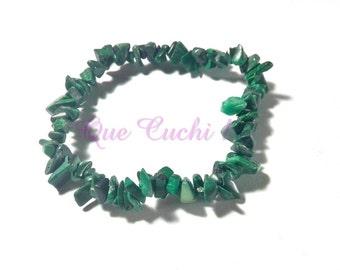 baroque bracelet in malachite