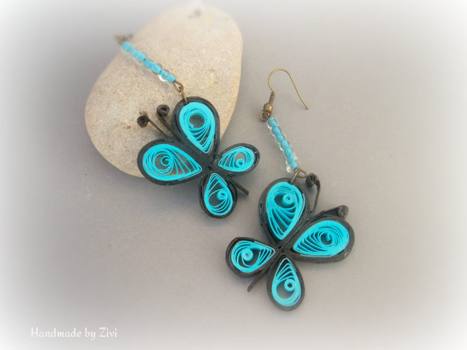 Quilling Earrings Designs Latest : 15 Simple and Latest Paper Quilling Earrings Designs