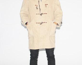 70s Gloverall Duffle Coat - 1970s British Luxury Coat  - Vintage Designer Coats - MO0008