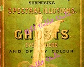 AWeSoMe ANTiQuE BooK on GHoSTs GRaPHiC No. 41 - INSTaNT DiGiTaL DoWNLoaD