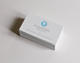 150 Dental Letterpress Business Cards