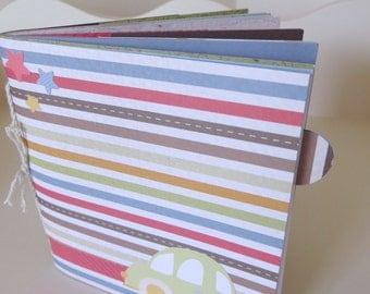 Paper Bag Album/ Book- Boy