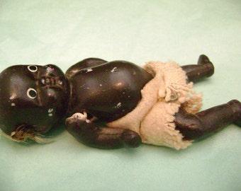 Antique Black Baby Doll