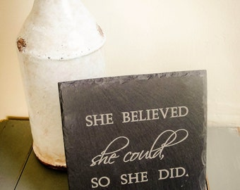 Engraved Slate Tile. Engraved Slate Sign. Engraved Sign. Personalized Slate Sign. Custom Sign. Engraved Tile - Any Text