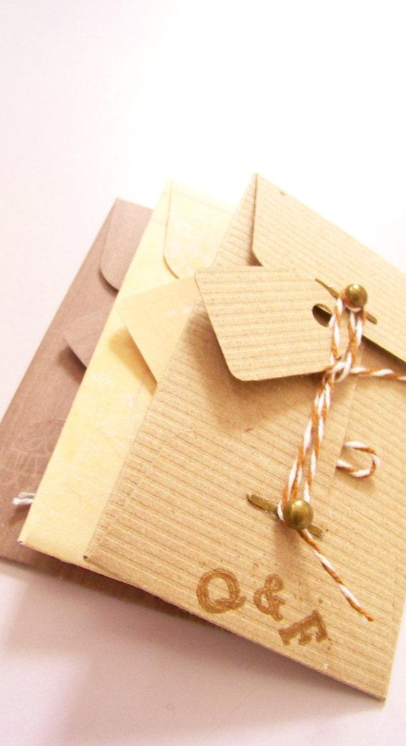 Ledger Card Holder : Items similar to men s gift card envelope
