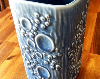 "Early 1970's Rörstrand (Sweden) ""Eternell"" Vase--Hard-to-Find Gunnar Nylund Design--6-3/4"" H x 3-1/2"" W x 3-1/2"" D--Picked in Sweden"