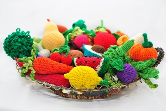 Free Crochet Pattern Vegetables Dancox For