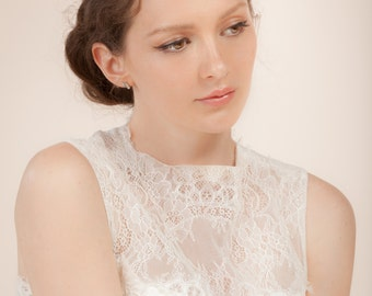 Bridal hair vine , crystal headpiece, crystal halo, Simple Sparkle crystal hair vine  --  Style 335