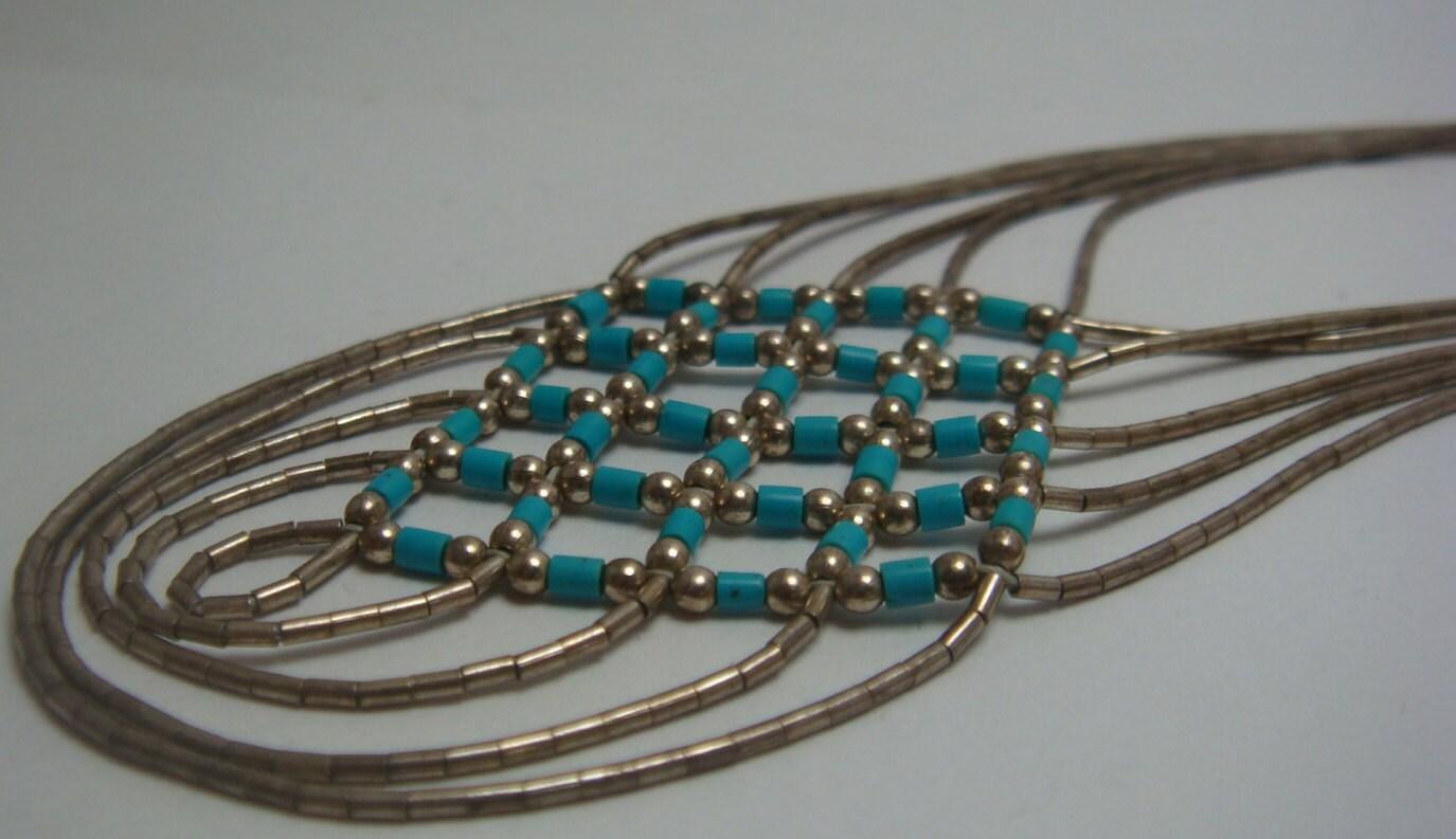 Basket Weaving Jewelry : Vintage navajo native american jewelry basket weave design