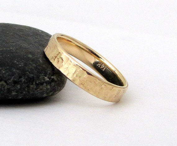 mens wedding band gold wedding ring unique wedding rings 14k. Black Bedroom Furniture Sets. Home Design Ideas
