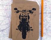 Motorcycle pocket Notebook