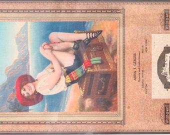Original Vintage  R. Atkinson Fox/ DeForest  On Treasure Isle Calendar