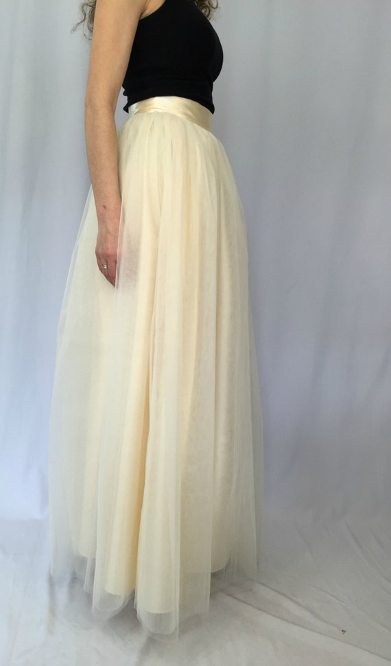 maxi tulle skirt tutu skirt princess skirt