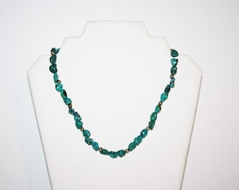 Turquoise Vintage Native Inspired Necklace