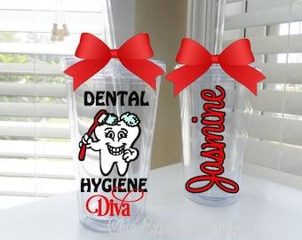 Dental Hygiene Diva tumbler