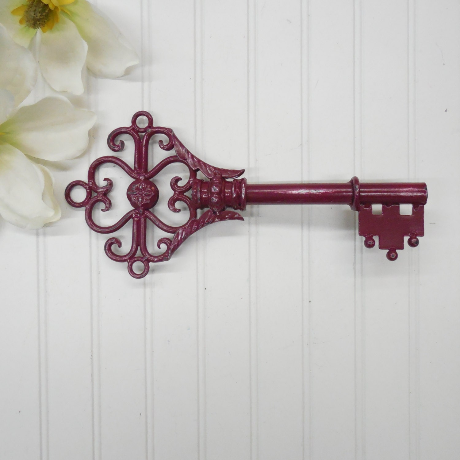 Wall Decor Keys : Wall decor skeleton key keys large metal by