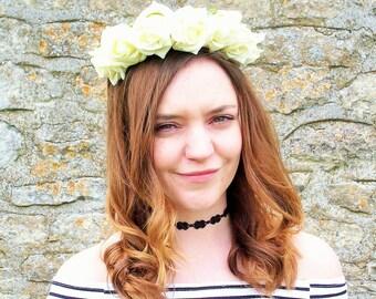 Althea Rose Headband (Yellow)