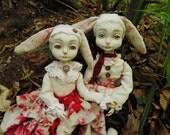 OOAK ART doll ''Novel and Julie'' (Make to order)