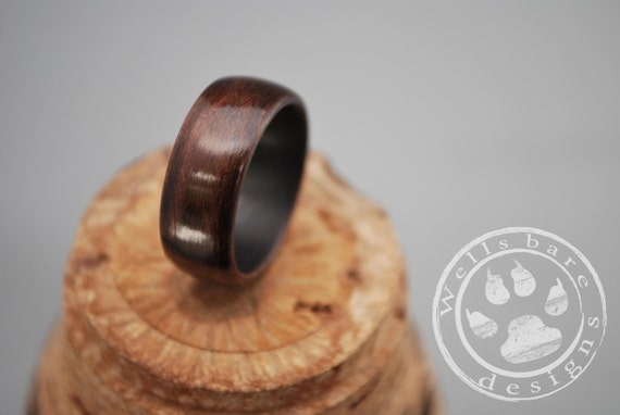 wood rings wooden jewelry bentwood rings by wellsbaredesigns