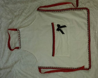 hand made custom pinnie / apron