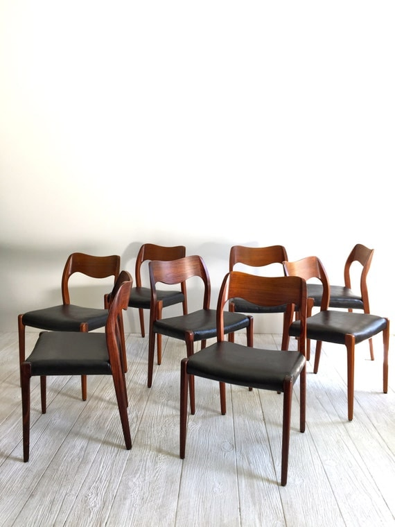 Moller 71 Side Chairs Danish Chairs