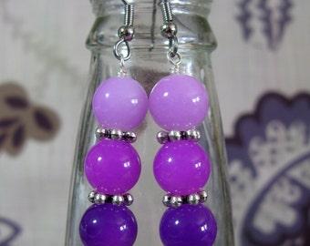 Ombre Glass Earrings