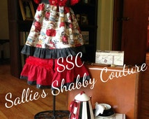 Children's Boutique Clothing Girls Dress Bloomers Size 0-3 mo, 6-12 mo, 12-18, 2T, 3T, 4, 5, 6, 7/8, 10 SSC Sallie's Shabby Couture