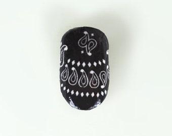 Black Beauty Nail Wraps