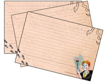 Wizard Recipe Cards