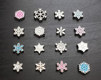 Snowflake Floating Charm for Floating Lockets-Gift Ideas