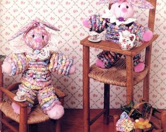 McCall's Creates Yo-Yo Bunnies (fabric crafts)