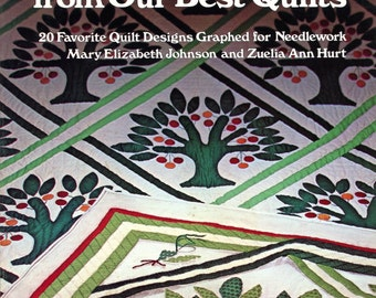 Needlecraft Designs from Our Best Quilts by Mary Elizabeth Johnson and Zuelia Ann Hurt
