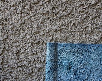"""Blue Textured Artist Journal & Sketchbook, 5.5""""x8.5"""", Sepia Linen Drawing Paper"""
