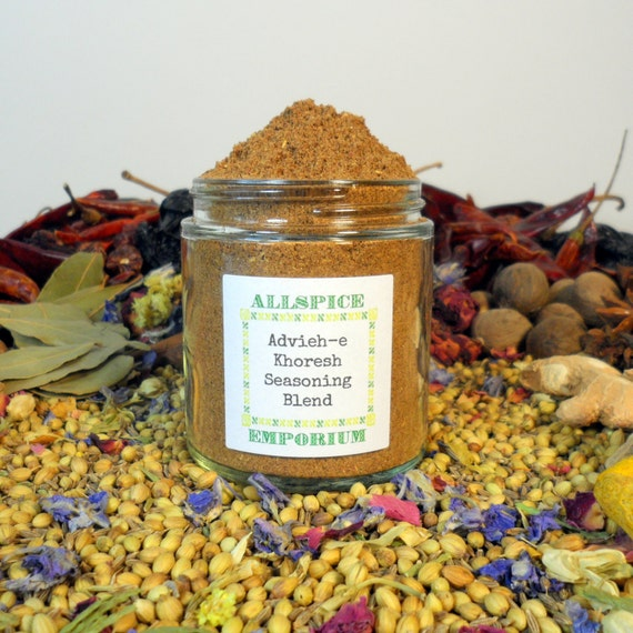 Advieh e khoresh seasoning blend middle by allspiceemporium for A treasury of persian cuisine