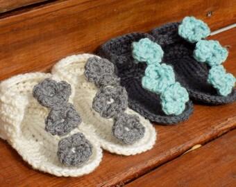 Crocheted Sandal