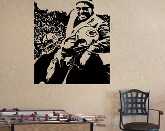 Vince Lombardi Green Bay Packers Football Vinyl Wall Sticker Decal 22 Part 85
