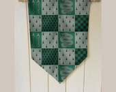 Harry Potter slytherin House - Wall Hanging Banner Flag Fabric pennant Cotton home decro decro