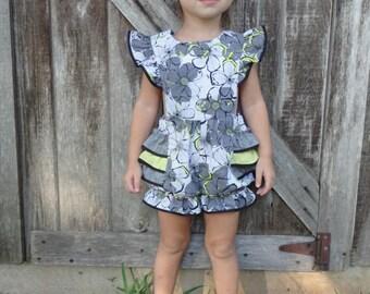 Little Girls Romper,Summer Girls Romper,Boutique Girls Romper,Girls Romper,Girls clothing,Clothing,Toddler Romper,Toddler Outfit