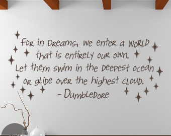 Image result for dream quote dumbledore