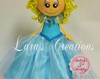 Fofucha Cinderella 2015 , Foam Doll, Cinderella party. Cinderella Centerpiece.