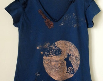 Moon hare shirt