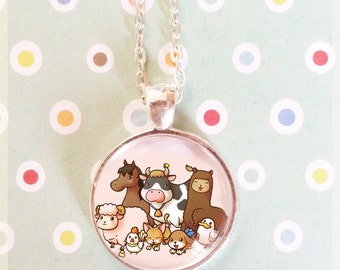 Harvest Moon Animals Pendant