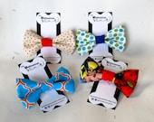 Dog Bow Tie - Dog Bowties - Dog Collar Bow Tie - Boy Dog Accessories - Velcro Dog Collar Accessories - Cat Bow Ties