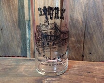 Vintage Souvenir York PA Glass First Capital Of The US,Colonial Courthouse,Courtesy Of Rutter Bros. Dairy, Gates House And Plough Tavern,