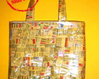 Bag recycling yellow pages, yellow pages interecci shopper