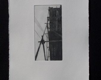 Scaffolding Print