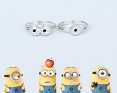 items similar to minion ring despicable me sterling